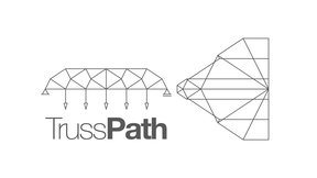 TrussPath: Graphic Statics-based loadpath optimization considering buckling